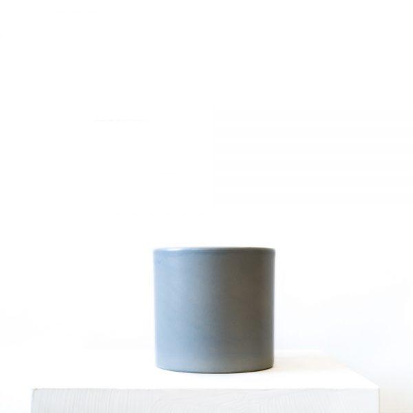 Ghp mavi seramik saksi 12 cm 01